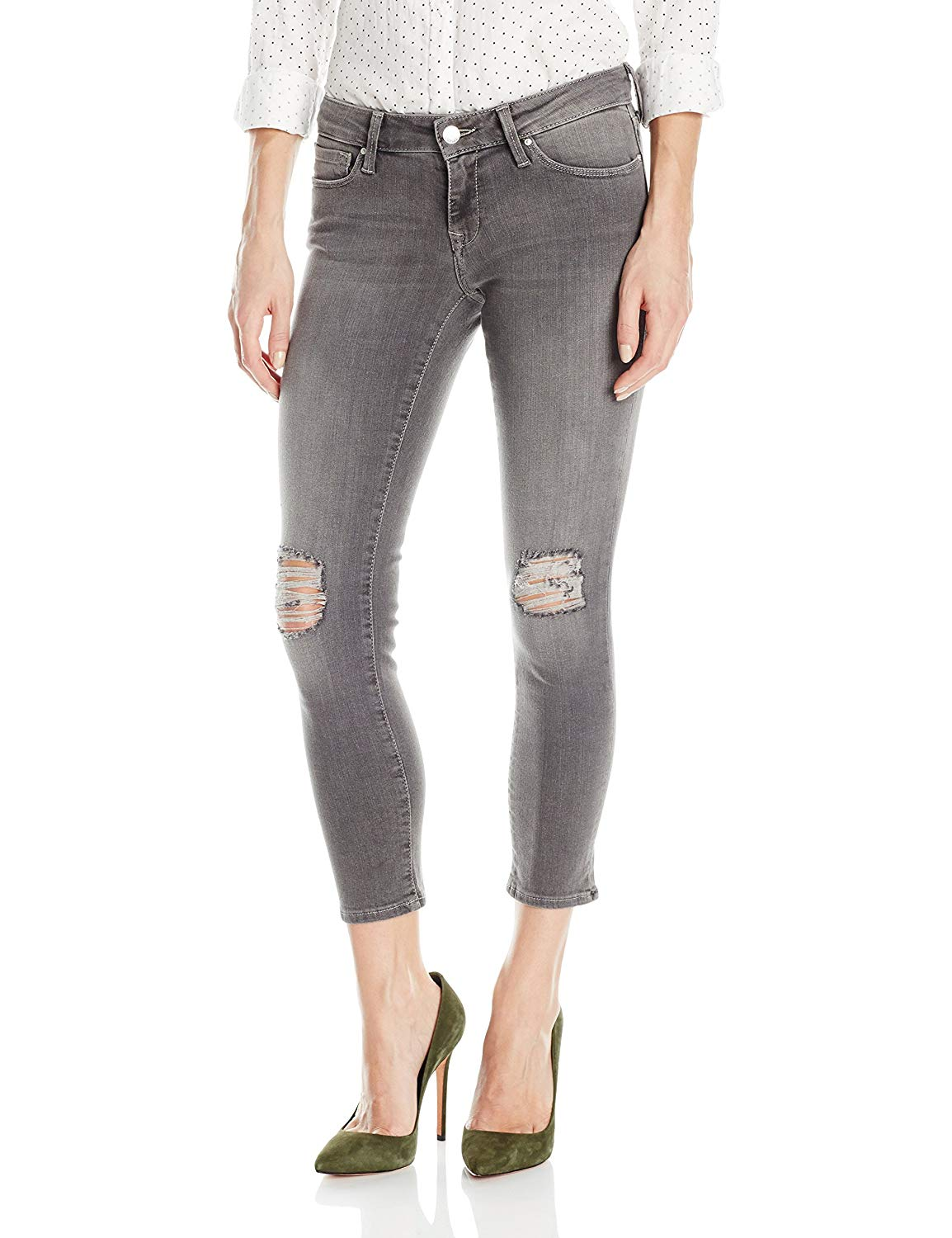 d31a72ec4b4 Get Quotations · Mavi Jeans Women s Petite Serena Super Skinny Low Rise