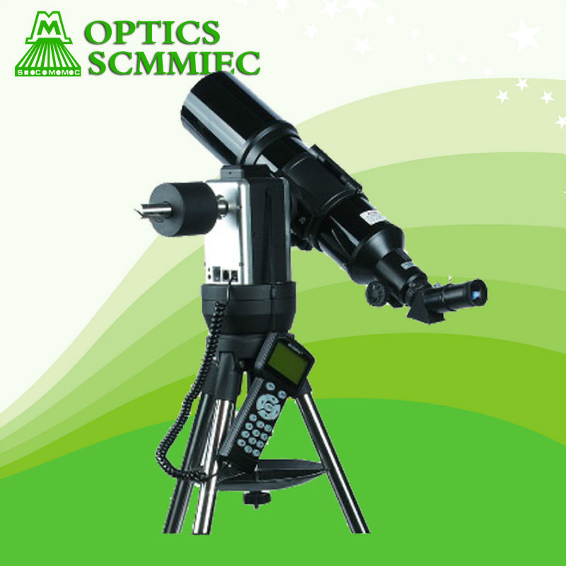 SC90-PRO 90*500mm GPS auto star finder auto tracking astronomical refractor GoTo telescope