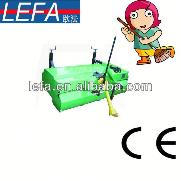 2014 New Farm Tractors rechargeable cordless floor sweeper