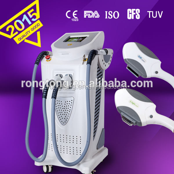 IPL+E-light+SHR beauty machine/device with big discount high life E-light machine for hair removal and skin sare