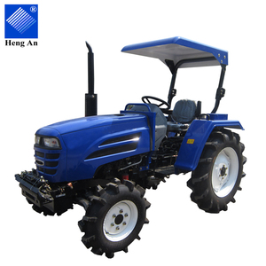 Chinese Easy-to-use low price 25hp 4wd wheel multi-purpose farm mini small tractor for sale