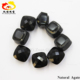 new type square engrave natural black agate jewelry Yemeni agate