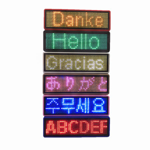 LED Price Tag Programmable LED Badge LED Name Tag