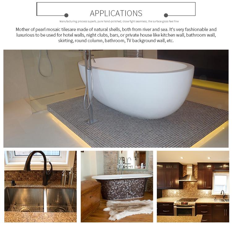 Wholesale Bathroom Tiles Mosaic Mosaic Floor Tile Bathroom Mother Of ...