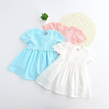 Plain White Baby Fock Design Cotton Baby Dresses Buy Baby Fock