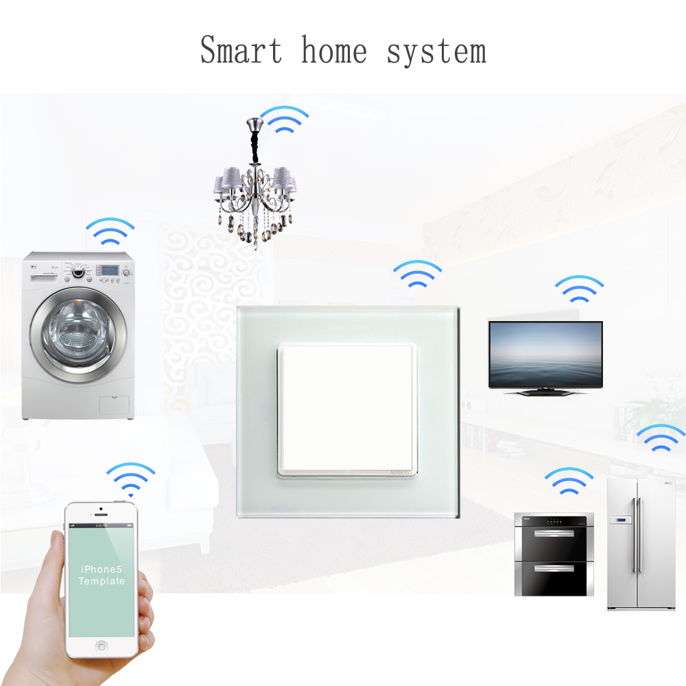 Wifi Smart Home Enocean Wall Switch For Home Automation - Buy Home ...