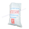 (Vid) White plastic sand bag for flood,building,construction use
