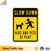 Anti-rust design 2.0mm road safety aluminum wholesale road traffic signs