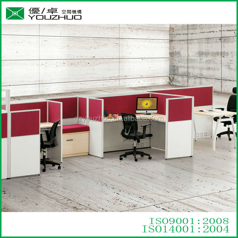 Used Reception Desk Office Workstation Panel System