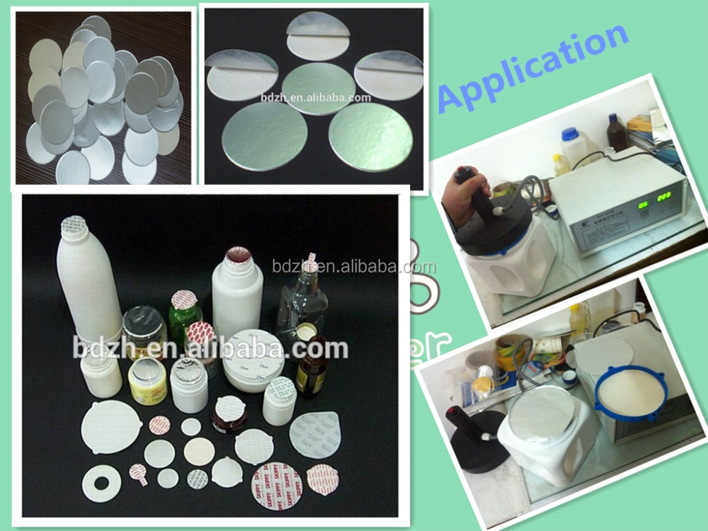 cheap and high quality pressure sensitive seal lid for metal bottle glass and palstic bottles