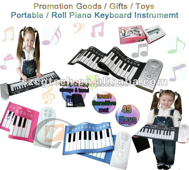 folding piano/flexible piano keyboard/ teclado musical plegable