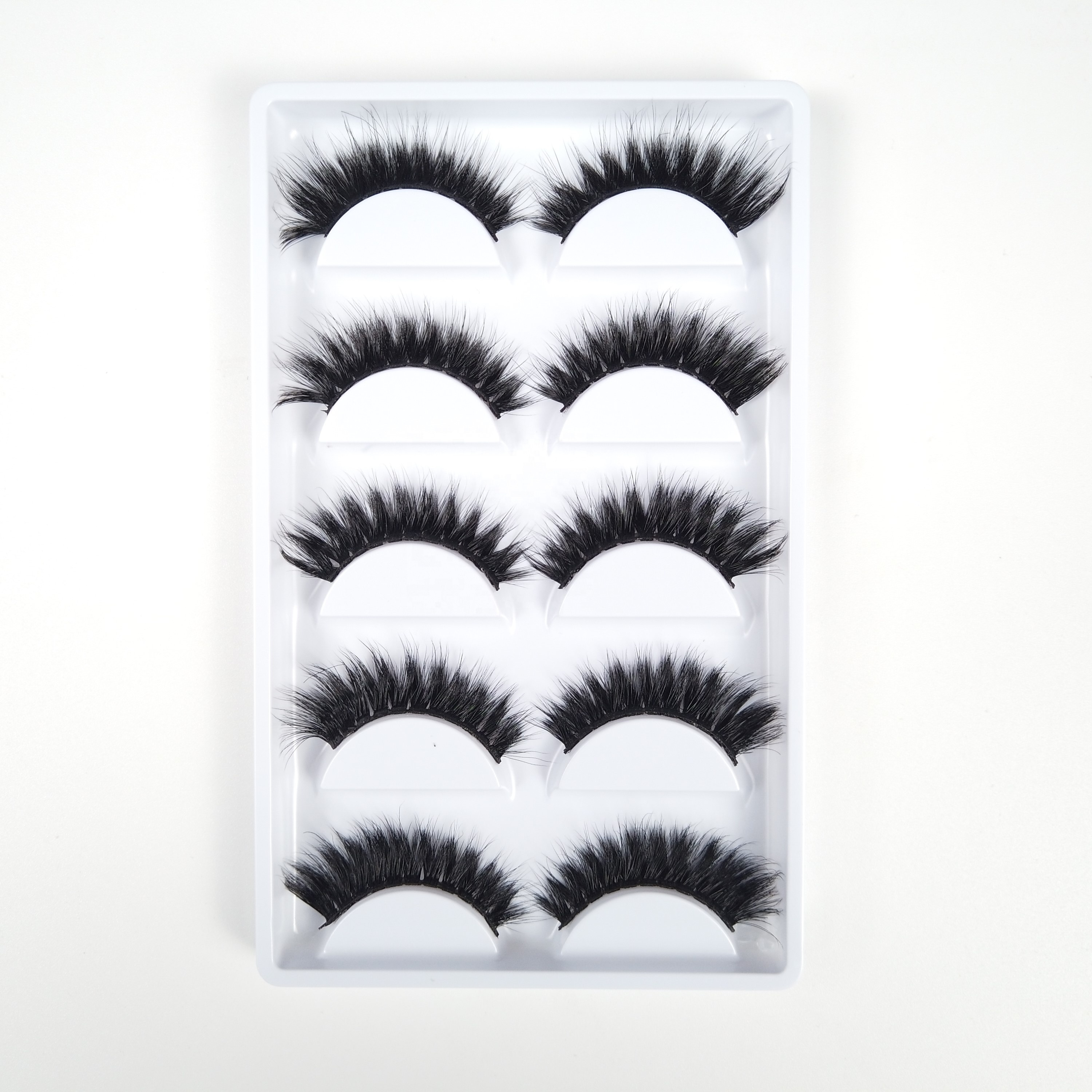 ขายส่ง 3d faux mink eyelashes