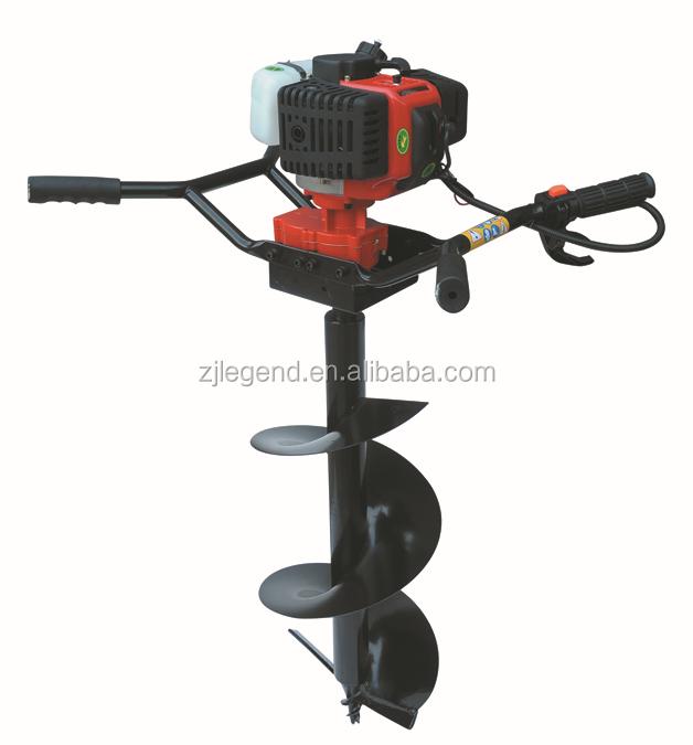 Garden tool one man use soil digging machinery auger for for Power garden digging tools