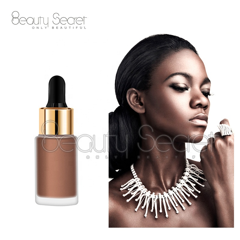 OEM bronzer 7colors highlighter makeup private label
