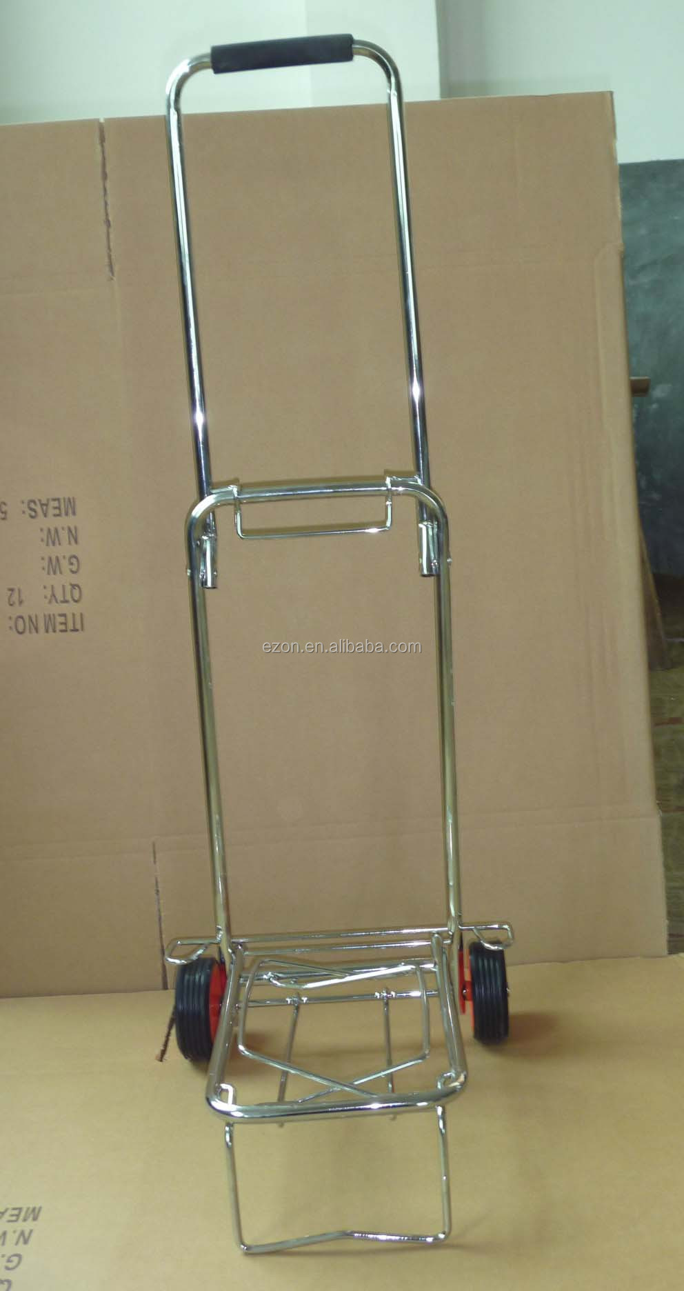 Travel Small Luggage Cart,Portable Folding Small Shopping Cart ...