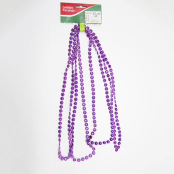 Highly cost effective Christmas hanging beads garland,plastic bead