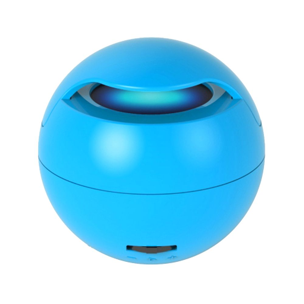Magic plasma wireless Blue tooth speaker mini round from china music factory