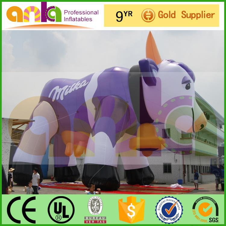 Professional size cow inflatable with great price