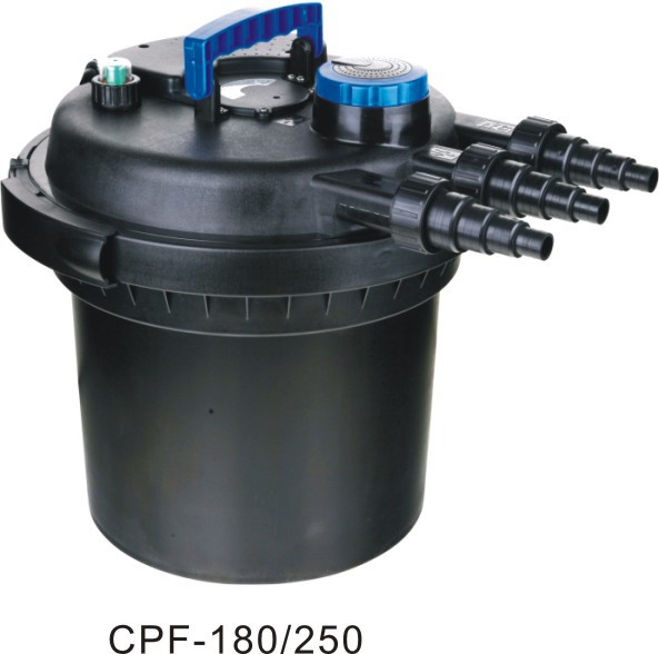 Cpf 180 250 pond bio press filter buy bio press filter for Pond water filter
