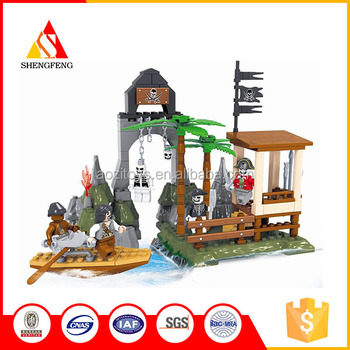 Building Blocks pirate bases boy best gift