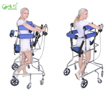 High quality disabled and elderly walker hemiplegia walking aid exercise equipment