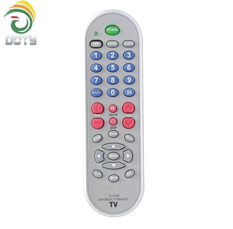 Dt-q-x33e One For All Codes Universal Tv Remote Control Used For 1000  Brands All Over The World - Buy One For All Codes Universal Tv Remote