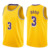 23  LeBron James  3 Anthony Davis  7 Kevin Durant 11 Kyrie Irving   Embroidery Logos Basketball Jersey