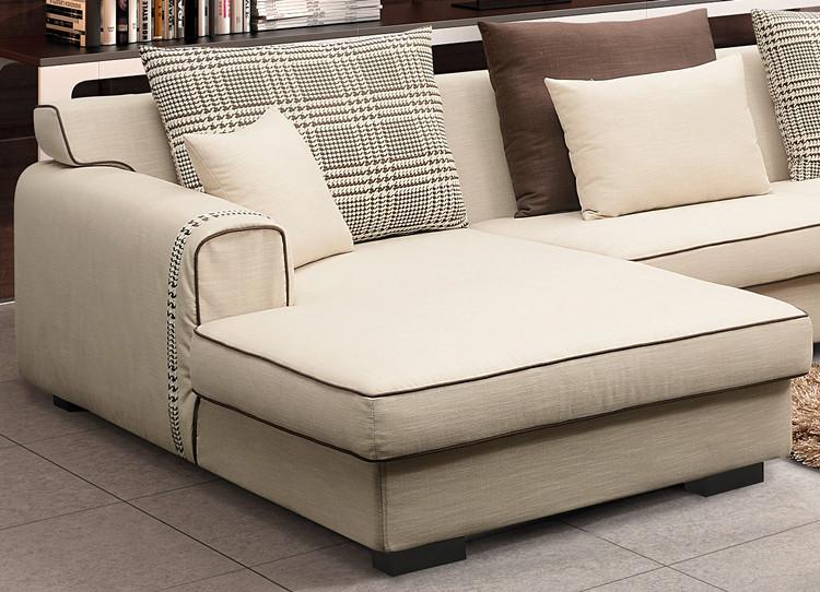 Living room furniture low back l shaped corner sofa set for Sectional sofa low back