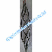 Wrought iron basket 4 or 8 wires ornamental parts Q235 iron rod