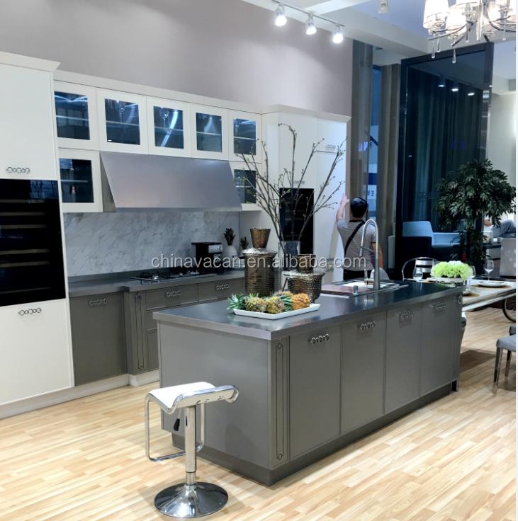 Hochwertige Moderne Edelstahl Küchenschrank Designs - Buy Product on ...
