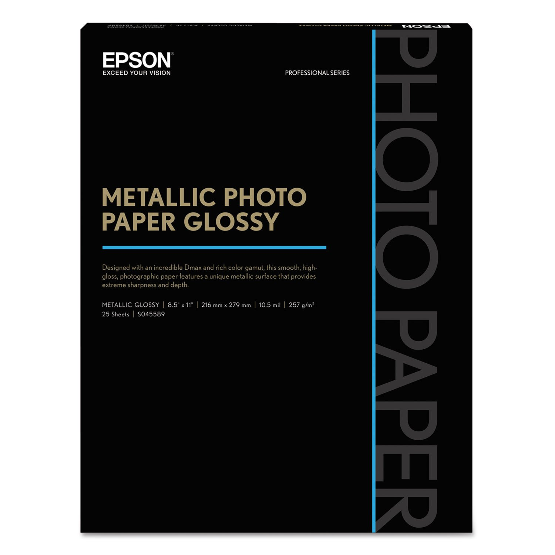 Madaboutink Brushed Silver Finish Inkjet Printable Metallic Film 100micron 10 x A4 Sheets