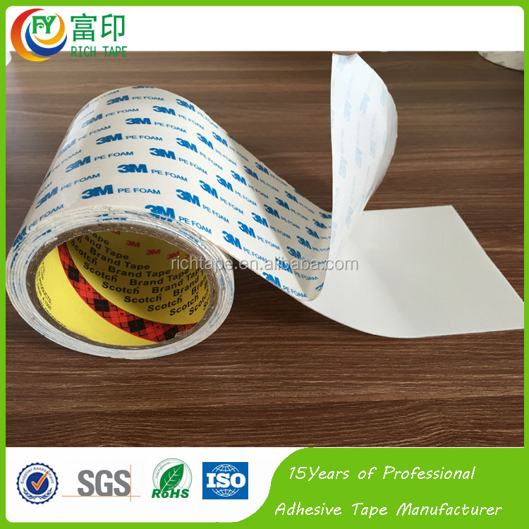 Wholesale 3M1600T two side PE Tape for Mobile phone sticking