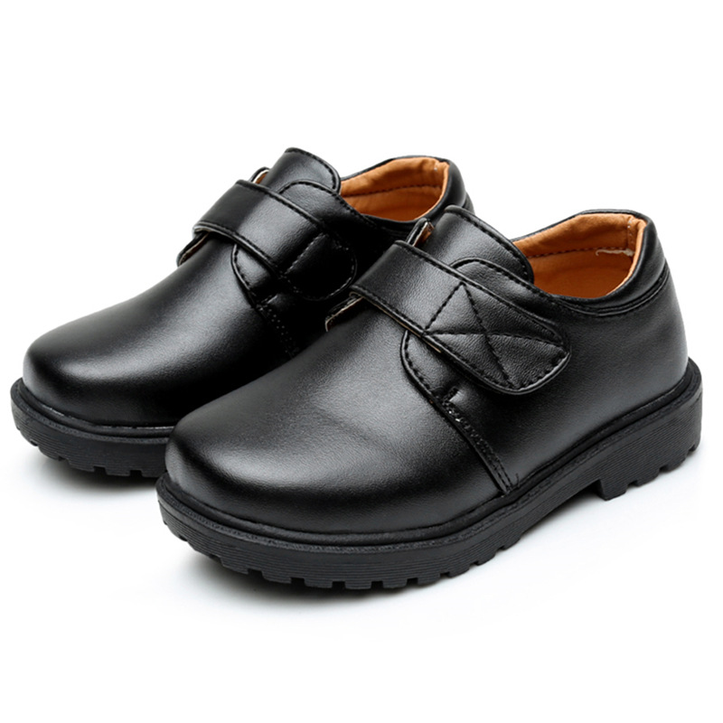 GUGUTREE kid boys school casual dress shoes 26-40# ,children boys school shoes 4201L