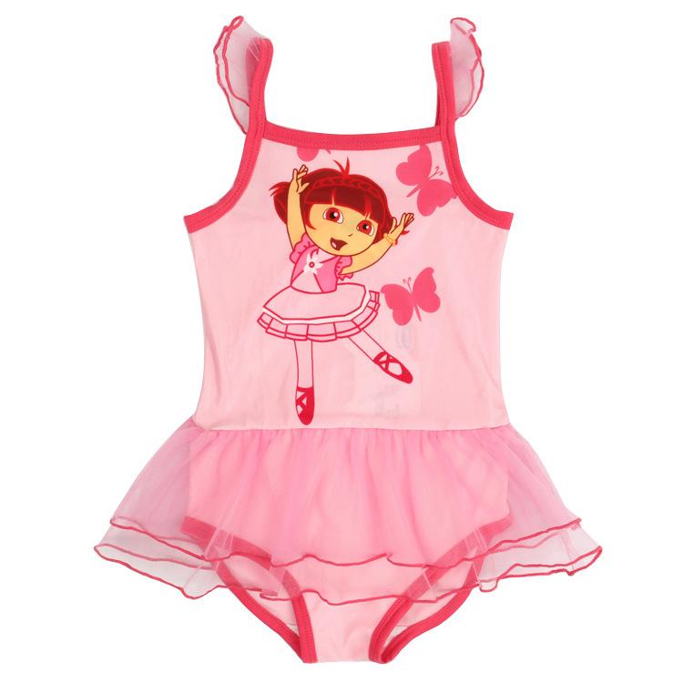 834da61d0b6bc Buy Summer Cute Dora Girls Swimwear Lace Tulle Baby Girl Skirts Swimsuts  Kids Children Bikini Bathing Suit Swimming Clothing 2Y~7Y in Cheap Price on  ...