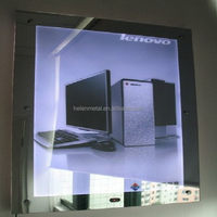 Top quality high bright magic glass mirror for barbershops