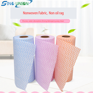 cheap disposable non woven clean wipe dry dish cloth