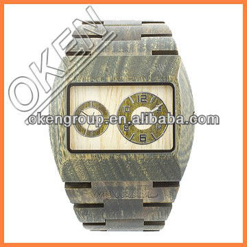 Wholesale Fashion Handmade Wooden Watch Quartz,Fashion Type watch