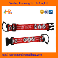 Polyester webbing Children safety belt for shopping trolley