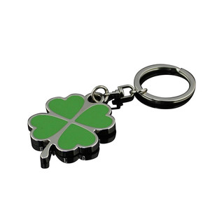 Logo key chain and promotional metal keychain