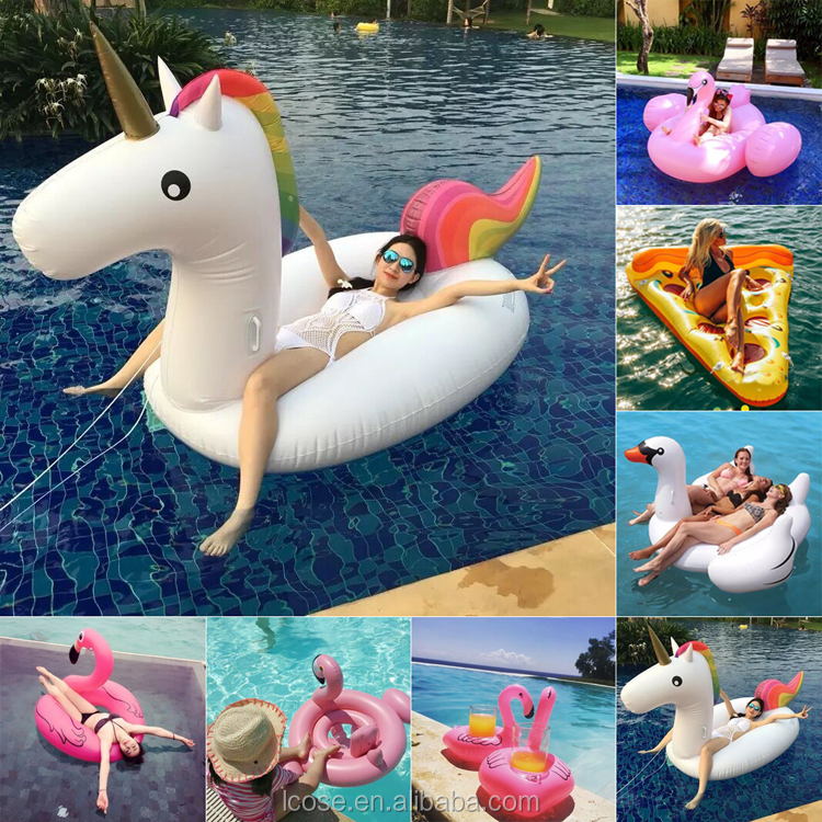2017 new arrivals manufacturers Inflatable island rafts giant custom inflatable unicorn pool float summer swimming toys
