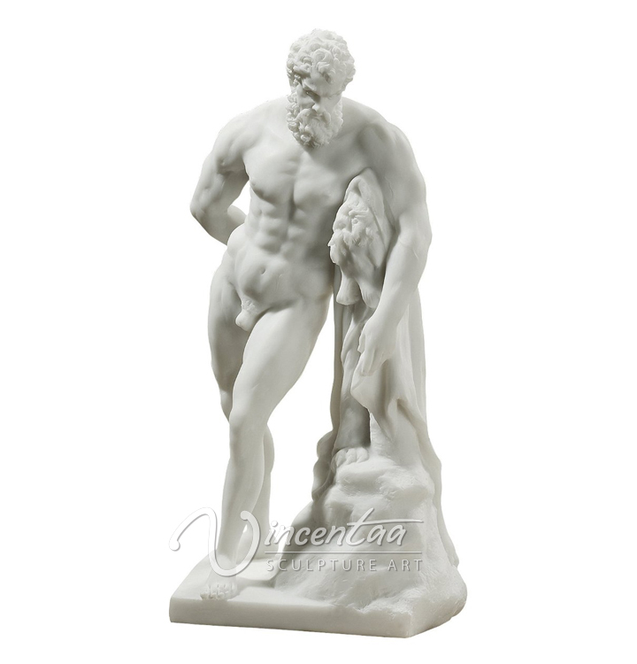 2015 hot sale garden decor marble Farnese Hercules Large Statue