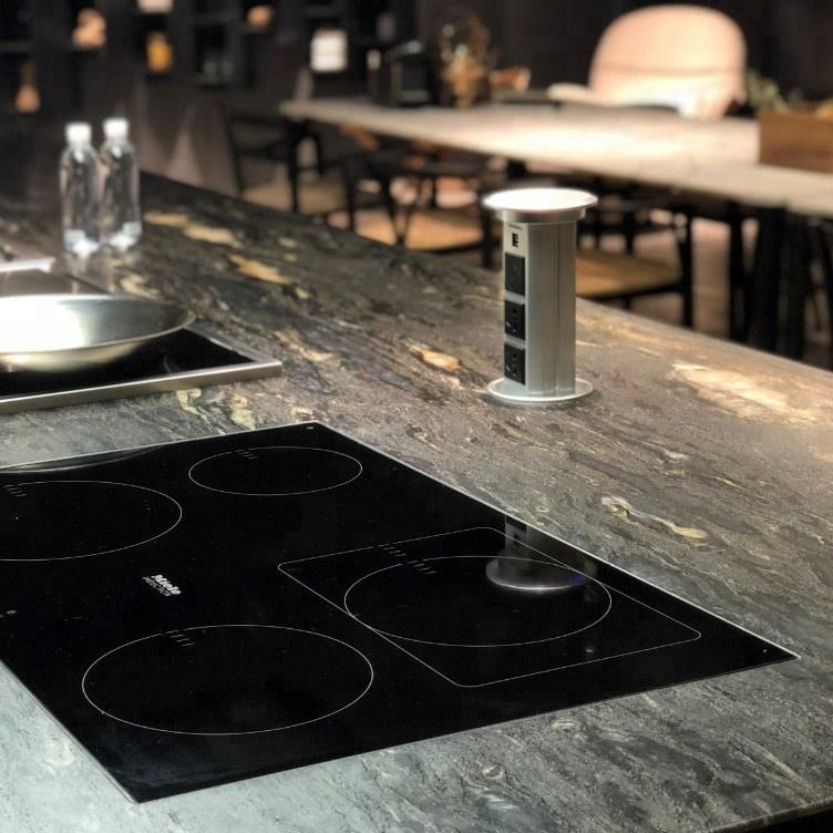 Özelleştirilmiş mutfak tezgahı SUS 304 gıda atık öğütücü kırıcı