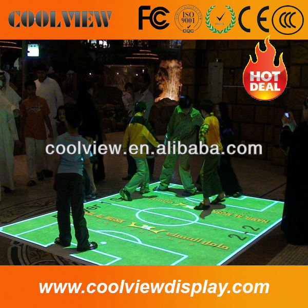 Interactive floor, interactive projector games used for kids