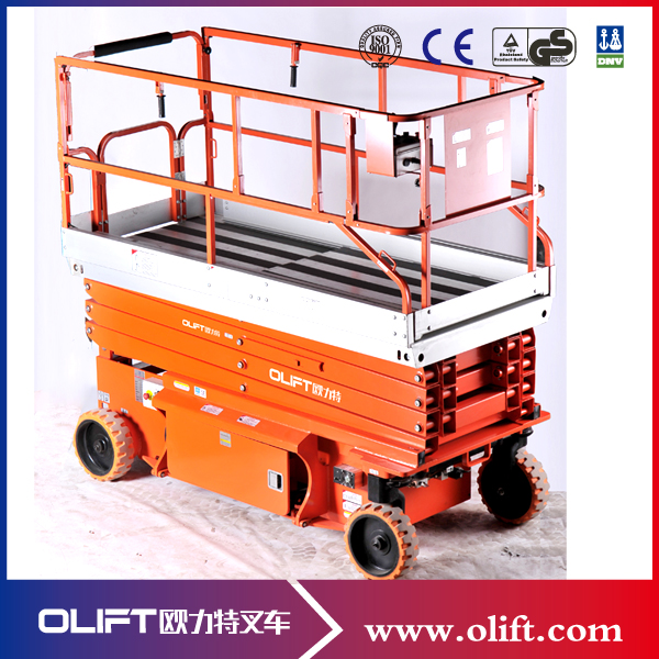 12m Stationary Telescopic Electric Lift Ladder With