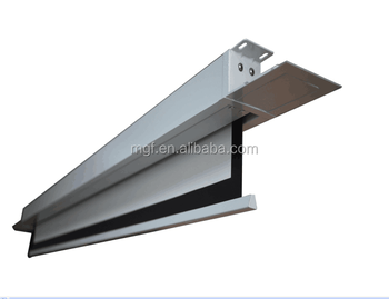 16 10 Vg Itw079127 Recessed In Ceiling Electric Movie Projection Screen