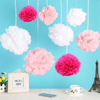 Wholesale hanging birthday party favors tissue paper pom poms flower wholesale hanging birthday party favors tissue paper pom poms flower balls mightylinksfo