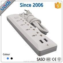 good price Flexible swivel socket outlet with USB port