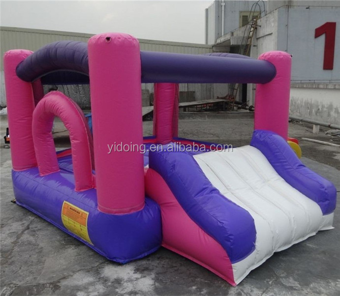 Used party jumpers for sale, best seller kids inflatable bouncer with slide B3097