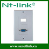 Netlink high quality VGA wall mount faceplate