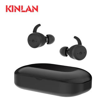 KINLAN best seller wireless ipx7 sport headphone waterproof sweatproof earphones